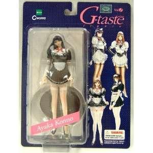 G Taste Pvc Series 2 Figure Ayaka Konno Variant Black