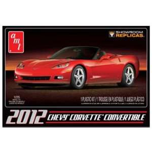 AMT 1/25 2010 Corvette Pace Car Model Kit Toys & Games