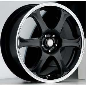 14x6 Akuza Drift (Gloss Black) Wheels/Rims 4x114.3 (372460445+38GBLM)
