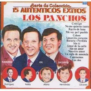 15 Autenticos Exitos serie De Coleccion LOS PANCHOS