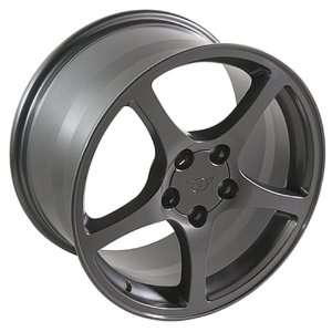 Pontiac Firebird C5 Style Wheel Gunmetal Wheels Rims 1993 1994 1995
