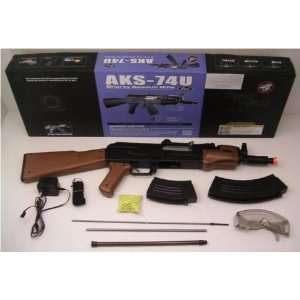 Electric AK 47 Short Assault Rifle FPS 230 Airsoft Gun