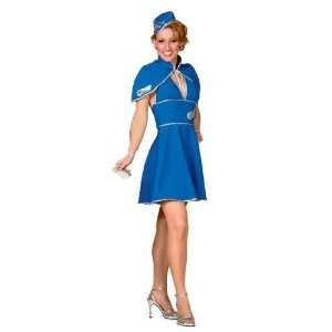 Britney Spears Air Hostess Fancy Dress Costume Size US 6 8