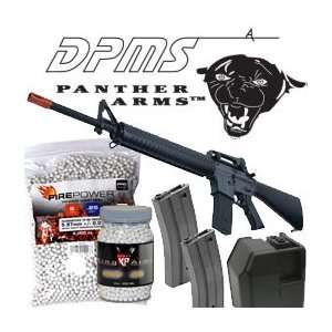 AIRSOFT ULTIMATE M16 PACKAGE AEG COMPLETE KIT Sports