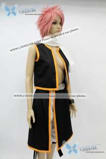 Fairy Tail Natsu Dragneel Cosplay Costume CSddlink