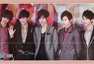 SS501 Boy Band Korean Kim Hyun Joong Poster 60x90 cm