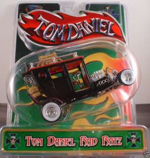 TOM DANIEL RAD RATZ 143~O SCALE CAR TIJUANA TAXI