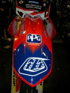 Honda CR125 CR250 Graphics TLD LUCAS OIL N STYLE GRAPHICS KIT & SEAT