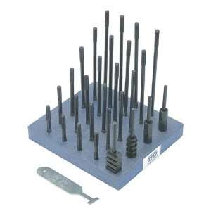 TE CO 38 Piece T Nut And Stud Set   Model: 20613 Thread Size: 3/4 10