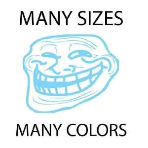 Baby Blue   Troll Face Meme 4chan Custom Vinyl Decal