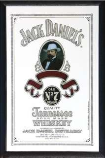Jack Daniels   Bar Mirror (Mr. Daniel) (Size 9 x 12)