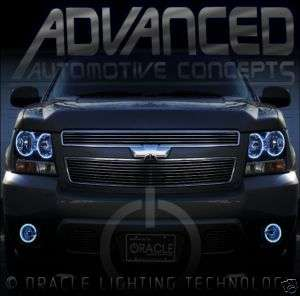 07 Chevy Tahoe Avalanche Headlight HALO Angel/Demon Eye