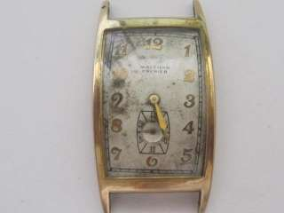 WALTHAM PREMIER 17J CAL.870 VINTAGE MENS WATCH NEEDS REPAIR