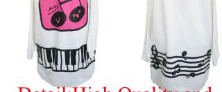 Printing Design Korean Women Ladies Hoodie Sweater Top 1031