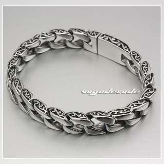 11.0 316L Stainless Steel Mens Bracelet 5C020 Length