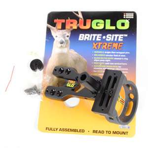 Tru Glo Brite Site Xtreme TG500XB Compound Bow 3 Pin Sight TruGlo