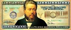 Lot of TWO One Billion Dollar Bills