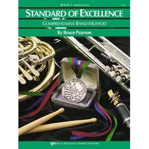 Standard of Excellence Band Method Book 3   Oboe Musical Instruments