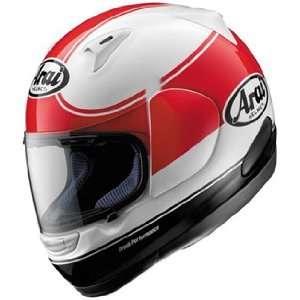 Full Face Motorcycle Riding Race Helmet   Banda Red Automotive