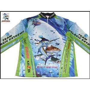 TEAM PELAGIC EXTREME TOURNAMENT FISHING SHIRT SIZE XXXL