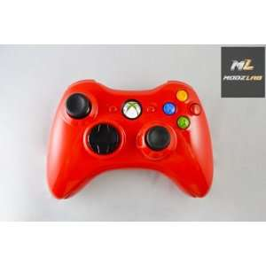 Glossy Red Xbox 360 Controller Electronics