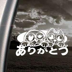 JDM Drift Option Racing Lucky Cat Decal Car Sticker