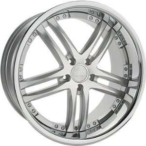 Concept One 743 RS 55 Silver Machined Wheel with Painted Finish (20x10