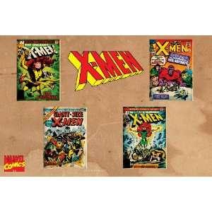 Marvel Comics Retro X Men Comic Book Covers , 20 x 30