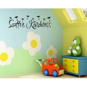 Scatter Kindness Religious Inspirational Vinyl Wall Decal