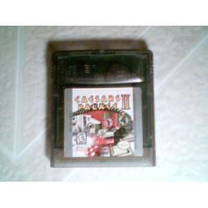 Interplay Caesars Palace II Game (Game Boy Color Version