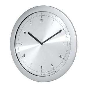 Verichron G81411 P Super Slim Aluminum Clock