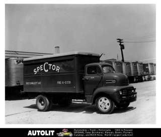 1948 Ford F6 COE Van Truck Factory Photo