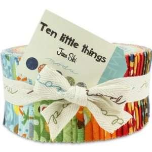 Moda Ten Little Things Jelly Roll Quilt Strips 30500JR