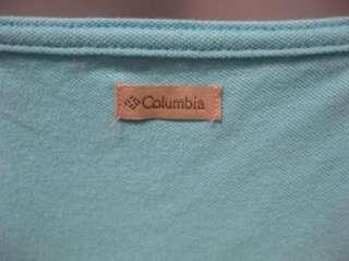 NEW Womens Columbia Lt Blue Athletic Soft Tank Top XL