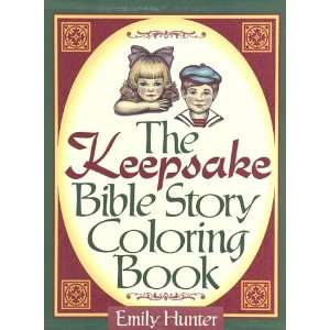 Bible Story Coloring Book (9781565070011) Emily Hunter Books