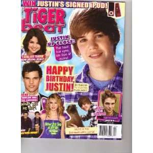 Tiger Beat Magazine (Happy Birthday Justin Bieber, April 2010) Books