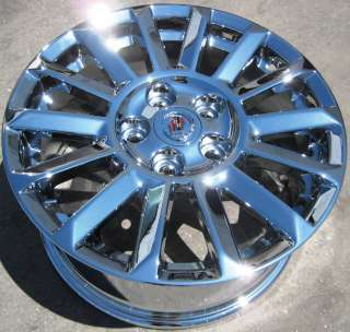 YOUR STOCK 4 NEW 17 FACTORY CADILLAC CTS CHROME WHEELS RIMS 2010 2013