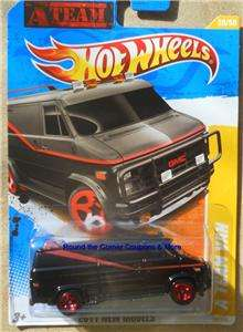 2011 Hot Wheels A TEAM VAN A TEAM #39 FIRST EDITIONS qty available