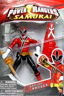 Power Rangers Samurai LOT (2 GOLD RANGERS + Red Green Blue) Shinkenger