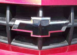2012 CHEVY CAMARO BLACK FRONT & REAR BOWTIE EMBLEM KIT