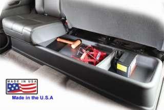 09001 Gear Box Underseat Storage 2007 2012 GMC Sierra Crew Cab