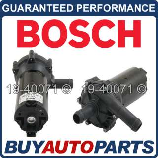 GENUINE OEM NEW BOSCH ELECTRIC WATER TO AIR INTERCOOLER PUMP 392022002