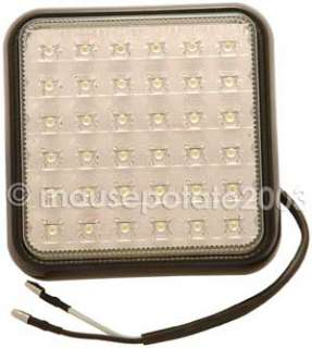 QUALITY WHITE LED REVERSE TRUCK WORK LIGHT LAMP 24v