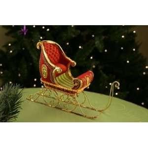 Patience Brewster Krinkles Dashaway Santa Claus Sleigh