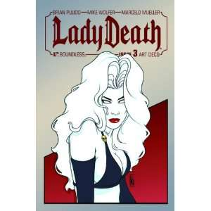 Lady Death #3 1:3 Michael Dipascale Art Deco Variant Cover: Brian