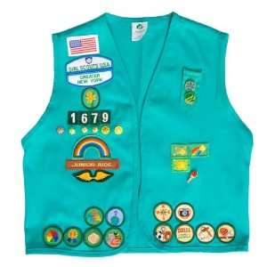 Junior Girl Scout Vest:  Sports & Outdoors