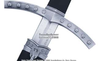 Medieval Crusader Templar Knight Sword Dagger W/ Sheath