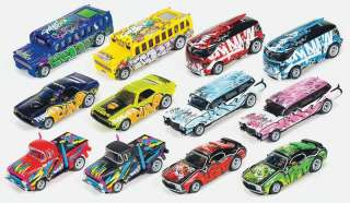 NEW! Auto World 4 Gear Release #5 Carfitti (12) SC232 NIB