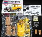 30 FORD WOODY     1:24 SCALE    1995 ​  MONOGRAM MODEL KIT
