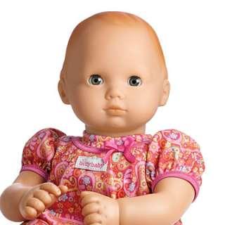AMERICAN GIRL BITTY BABY LIGHT SKIN RED HAIR BLUE GRAY EYE W/BITTY